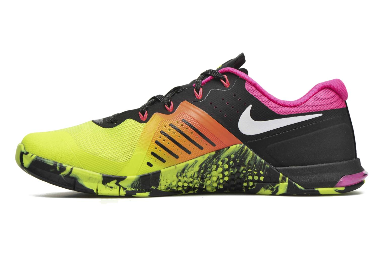 Chaussures de sport Nike Nike Metcon 2 Jaune vue face