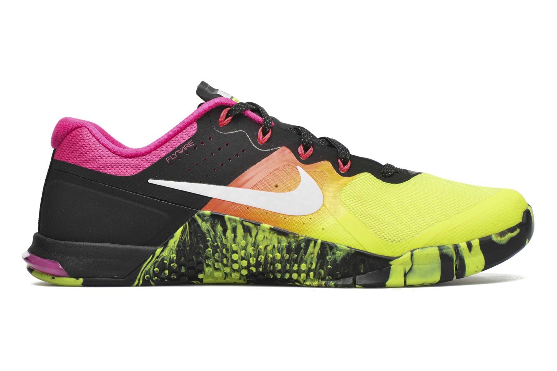 Sportschuhe Nike Nike Metcon 2 gelb ansicht von hinten