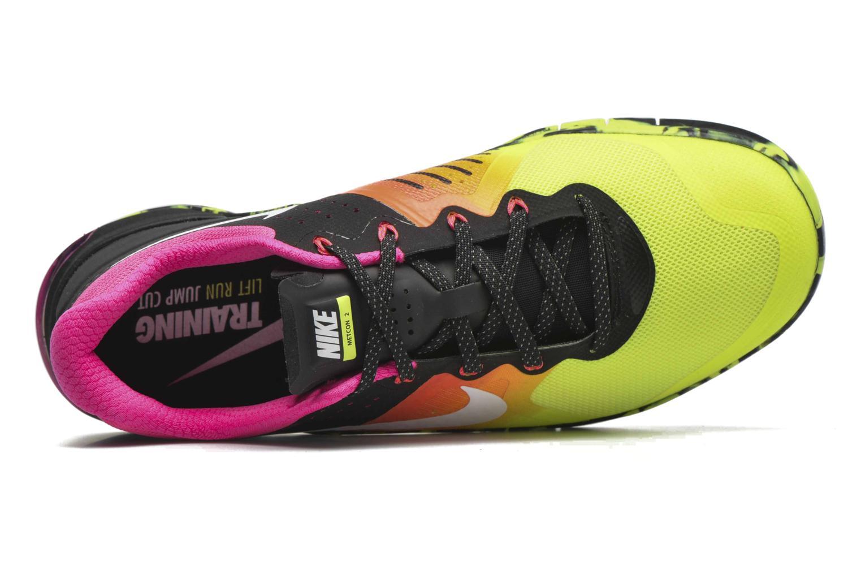 Sportschuhe Nike Nike Metcon 2 gelb ansicht von links