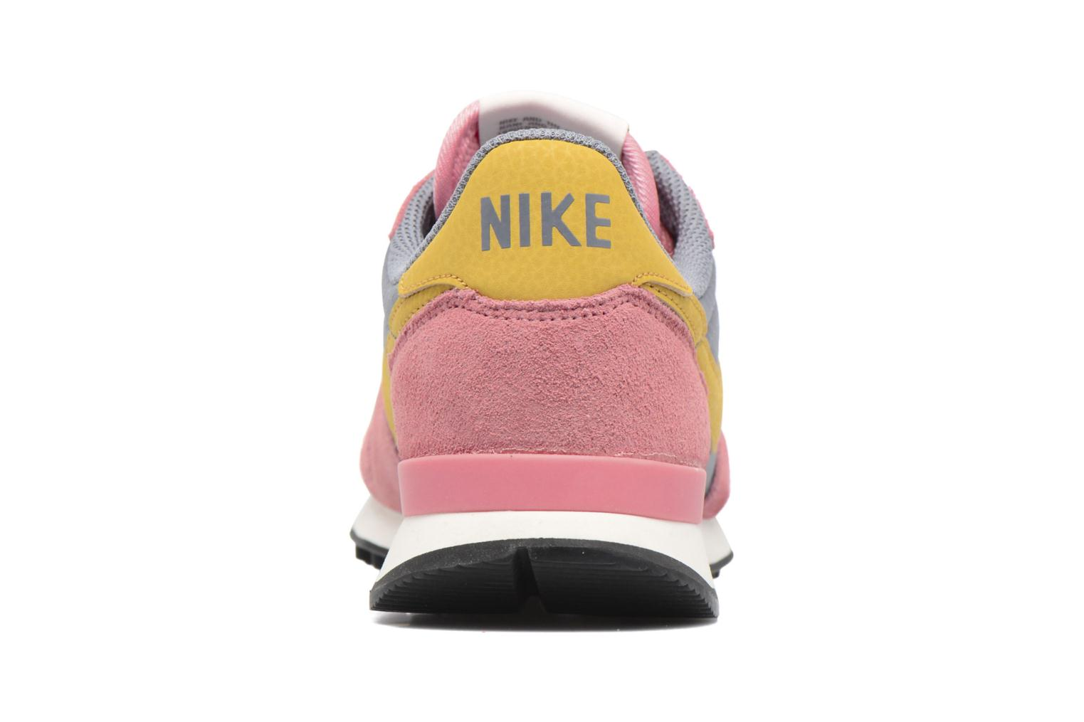 Deportivas Nike Wmns Internationalist Rosa vista lateral derecha