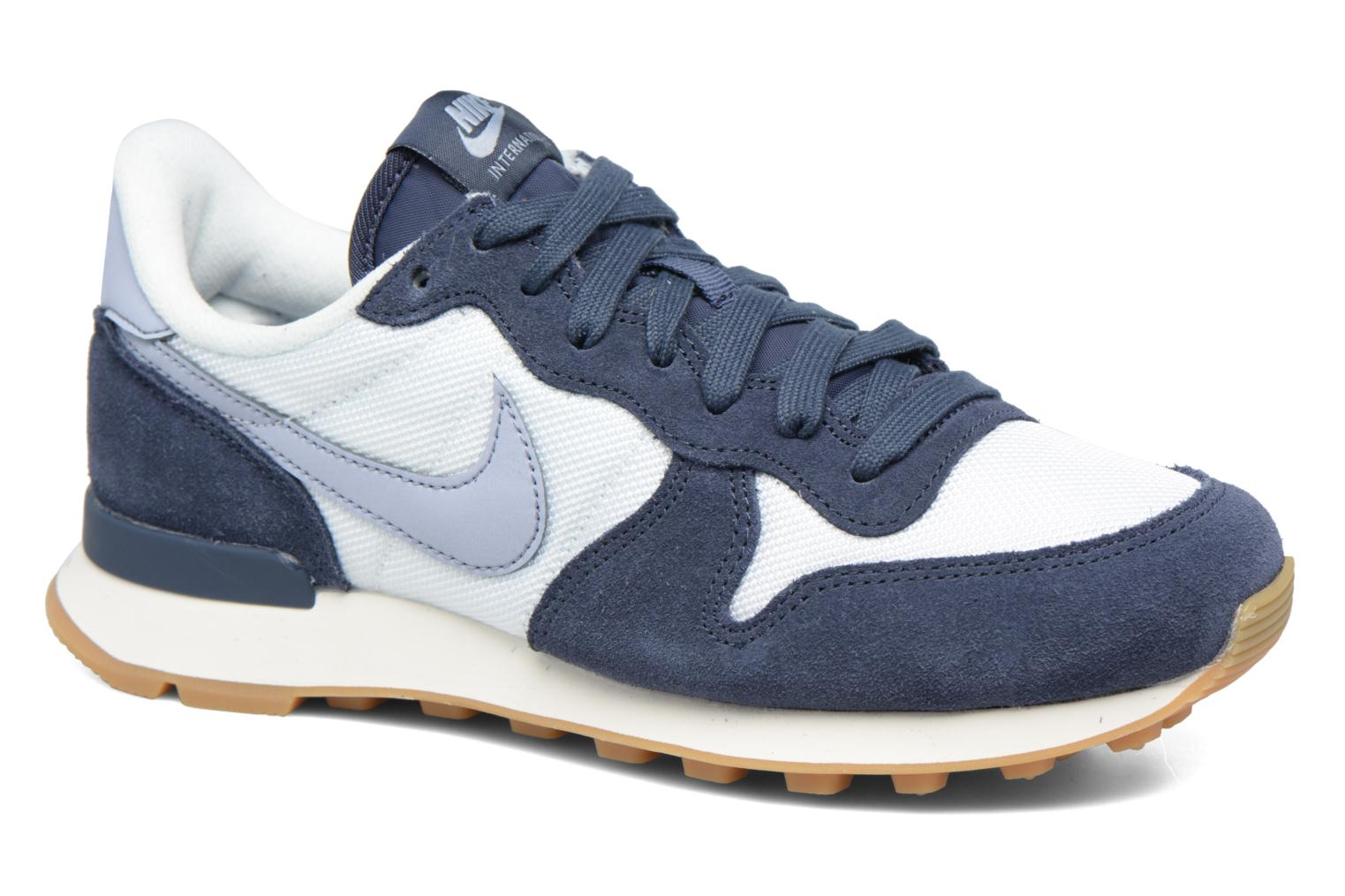 nike internationalist blauw groen