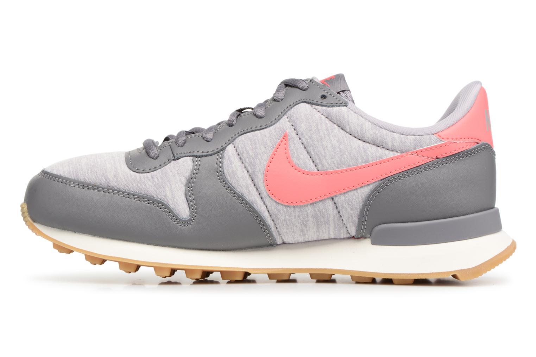 Sneaker Nike Wmns Internationalist grau ansicht von vorne