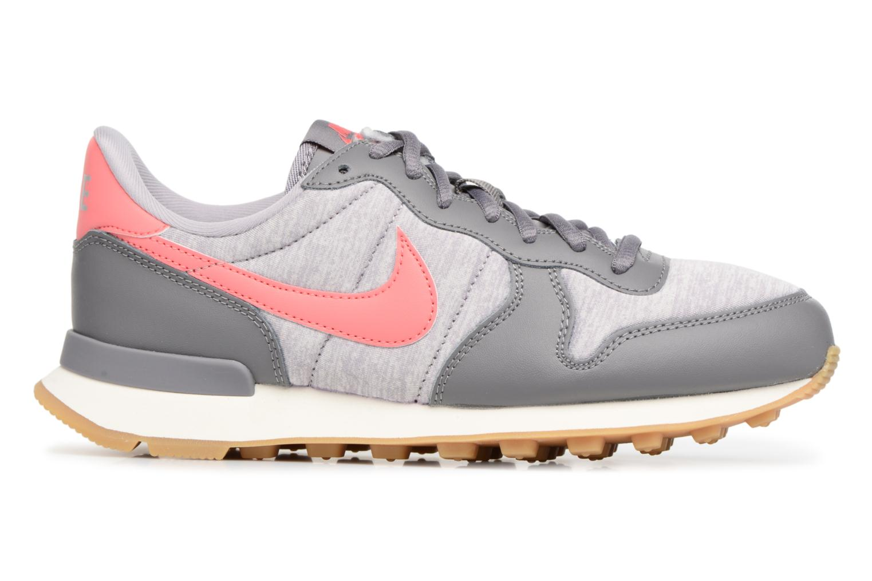 Sneaker Nike Wmns Internationalist grau ansicht von hinten