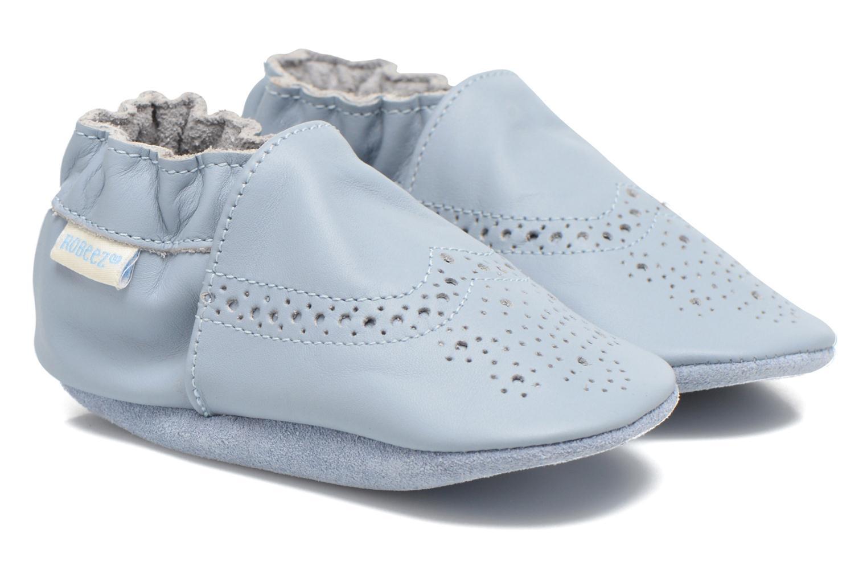 Pantoffels Robeez Smart Blauw detail