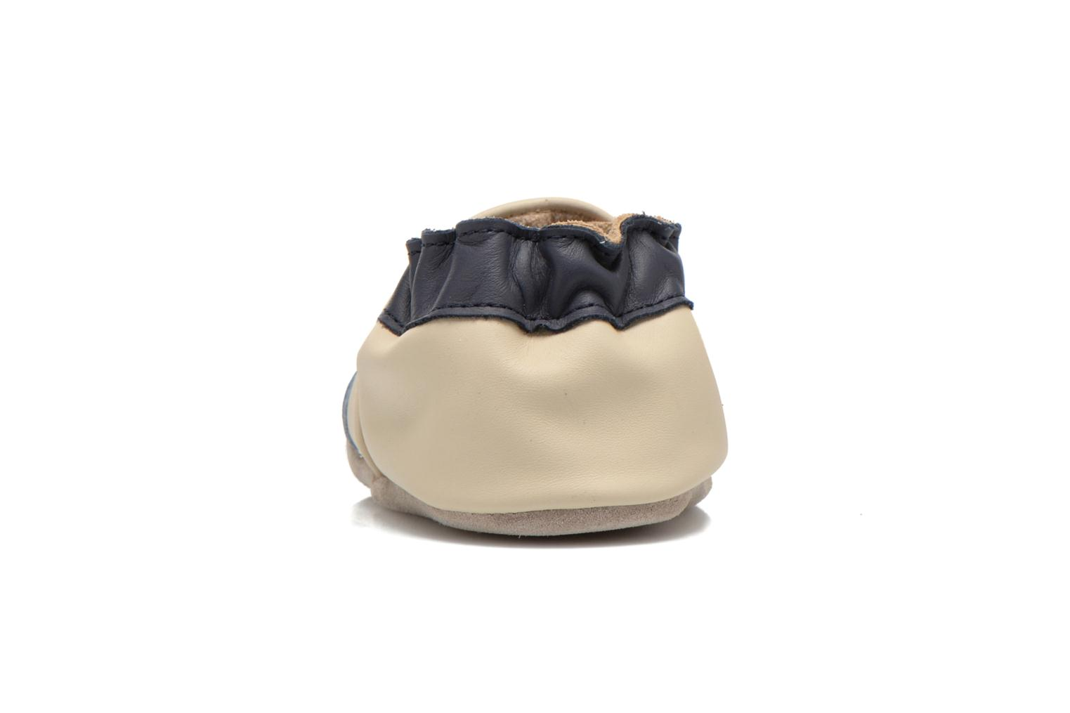 Slippers Robeez Racing Car Beige view from the right