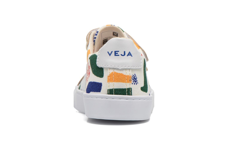 Esplar Small Velcro Jazz White