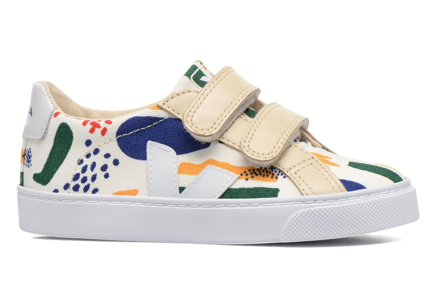 Trainers Veja Esplar Small Velcro Multicolor back view
