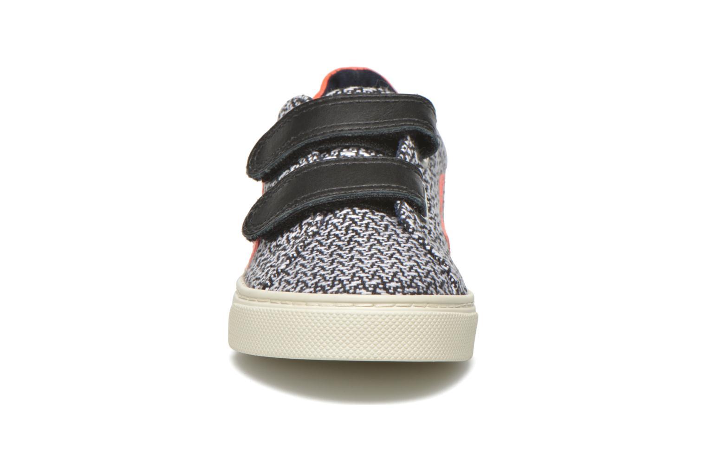 Sneaker Veja Esplar Small Velcro schwarz schuhe getragen