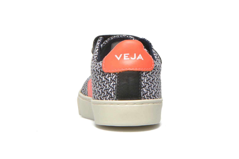 Sneaker Veja Esplar Small Velcro schwarz ansicht von rechts