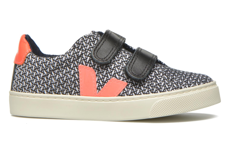 Sneaker Veja Esplar Small Velcro schwarz ansicht von hinten
