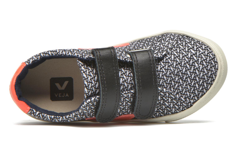 Sneaker Veja Esplar Small Velcro schwarz ansicht von links