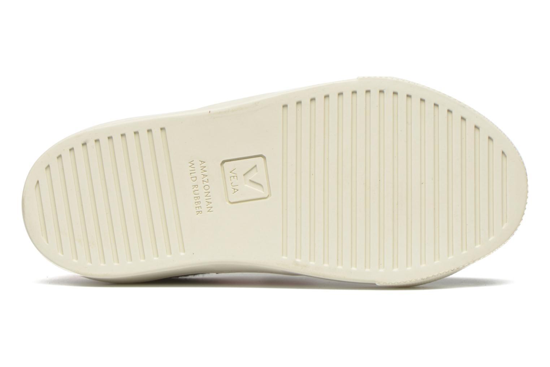 Sneaker Veja Esplar Small Velcro schwarz ansicht von oben