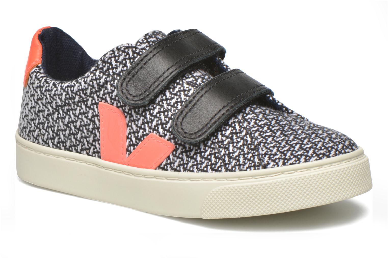 Sneaker Veja Esplar Small Velcro schwarz detaillierte ansicht/modell