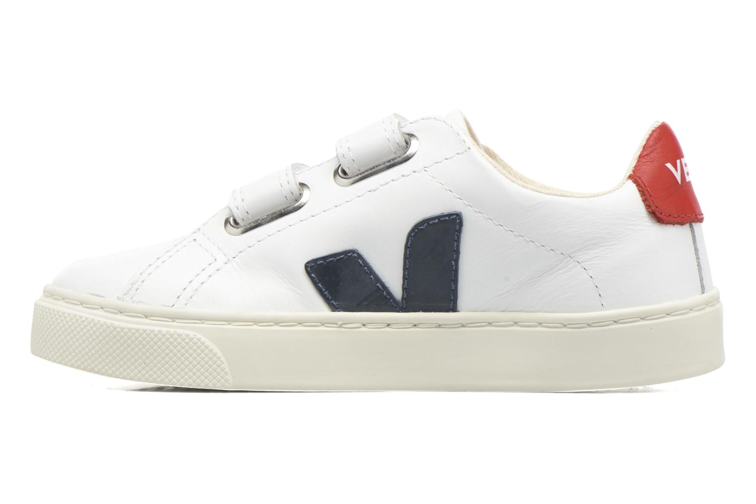Trainers Veja Esplar Small Velcro White front view