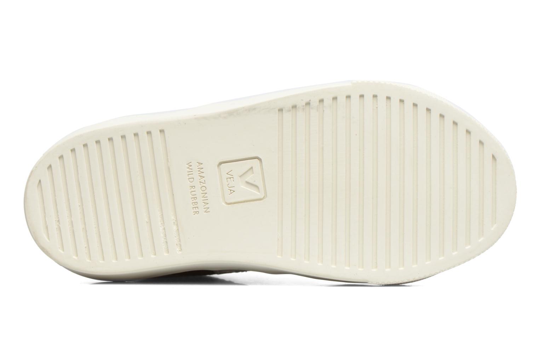 Sneakers Veja Esplar Mid Small Velcro Goud en brons boven