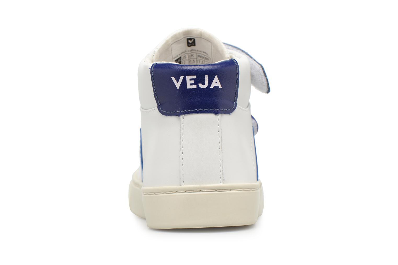 Baskets Veja Esplar Mid Small Velcro Beige vue droite