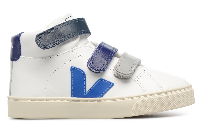Sneakers Veja Esplar Mid Small Velcro Beige achterkant