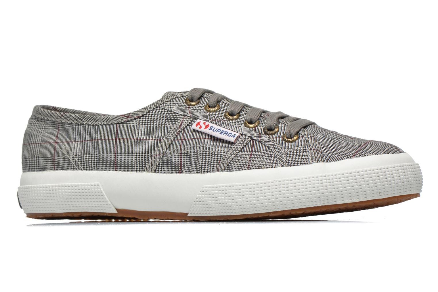 Baskets Superga 2750 GALLESU W Gris vue derrière