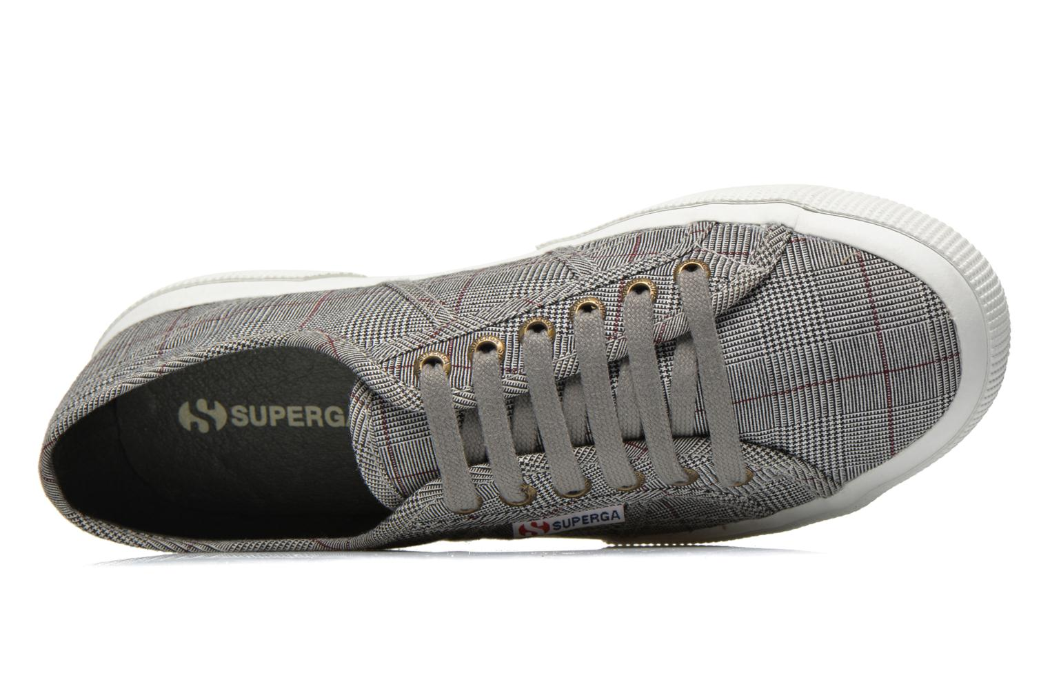 Trainers Superga 2750 GALLESU W Grey view from the left
