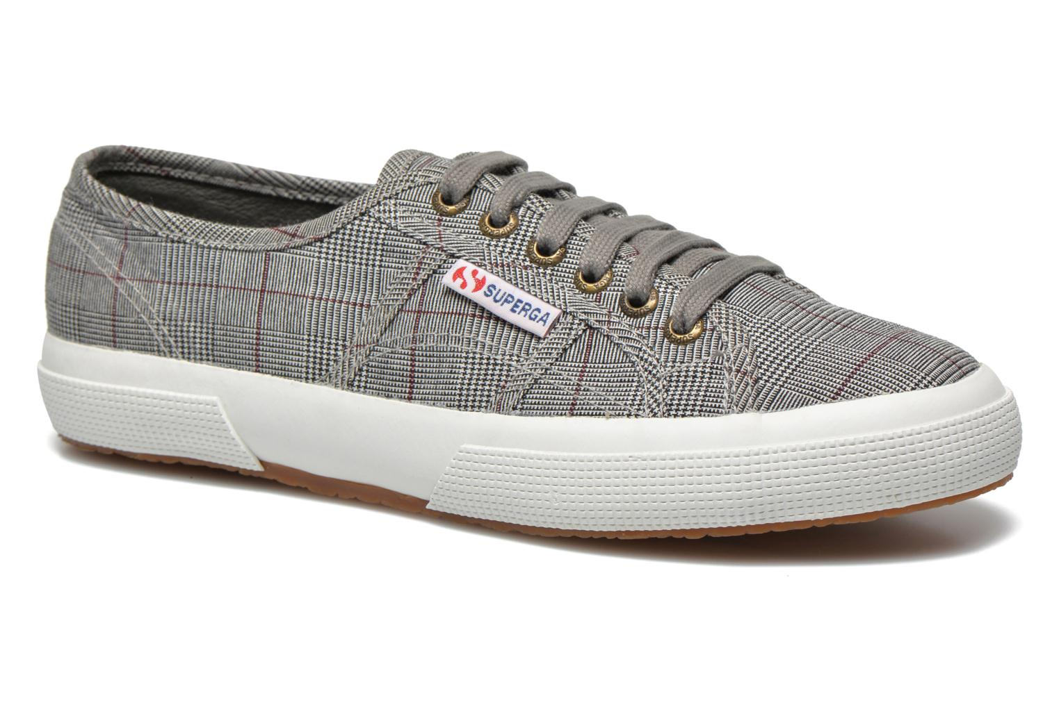 Trainers Superga 2750 GALLESU W Grey detailed view/ Pair view