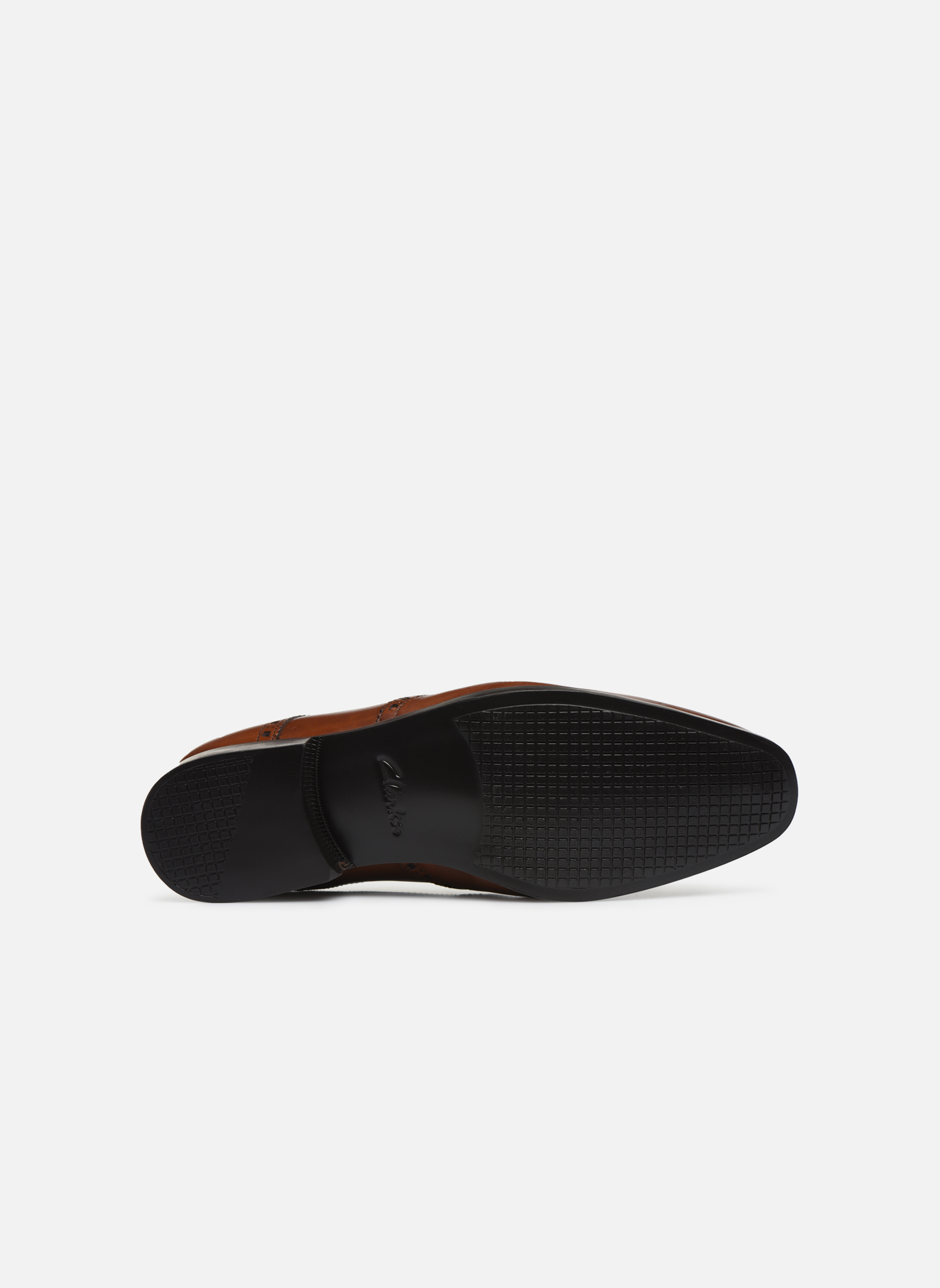Chaussures à lacets Clarks Amieson Limit Marron vue haut