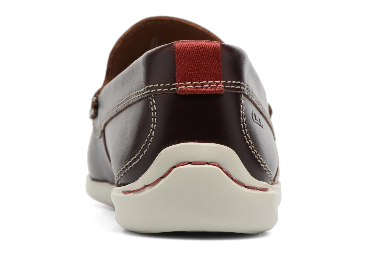 Loafers Clarks Karlock Lane Brown view from the right