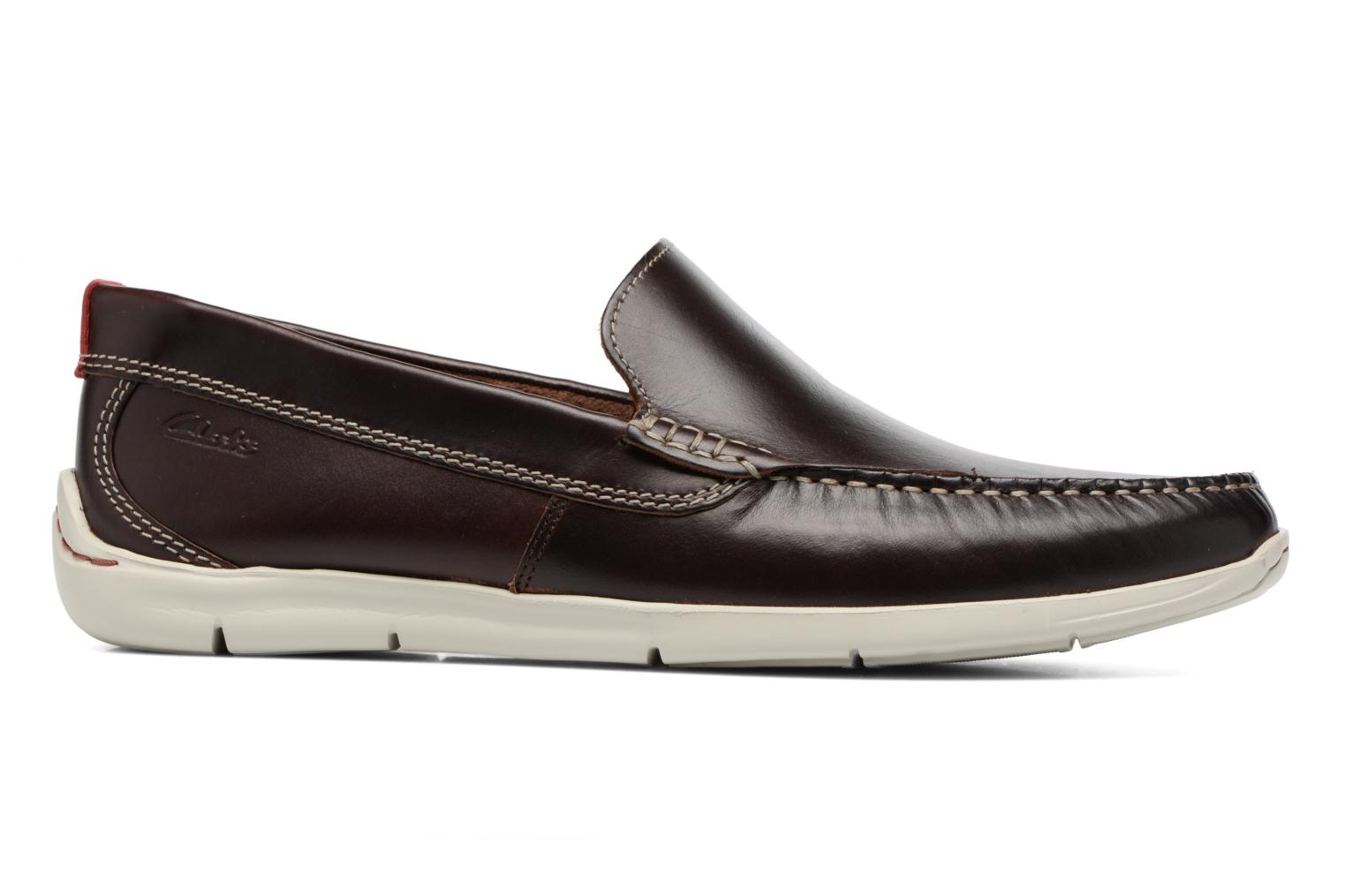 Loafers Clarks Karlock Lane Brown back view