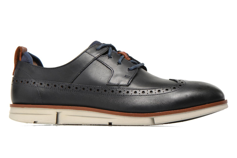 Chaussures à lacets Clarks Trigen Limit Bleu vue derrière
