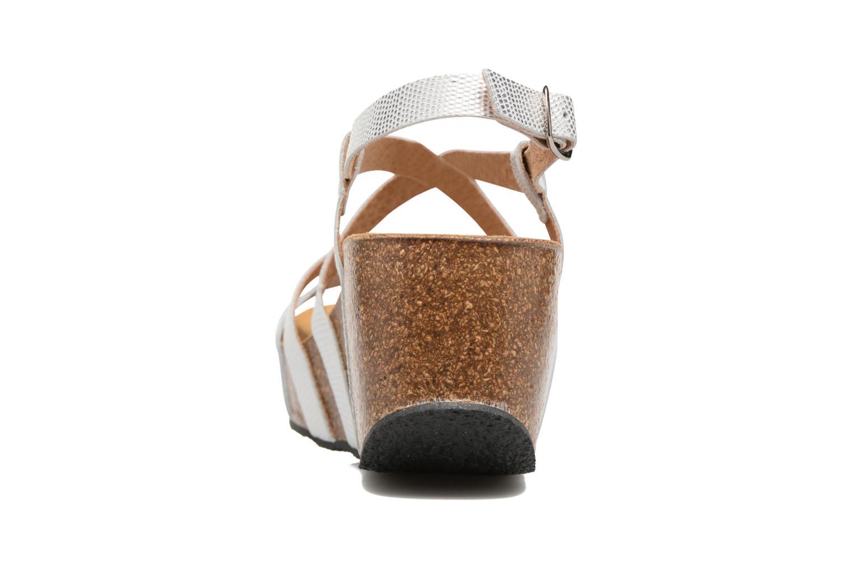 Sandales et nu-pieds Plakton So song Blanc vue droite