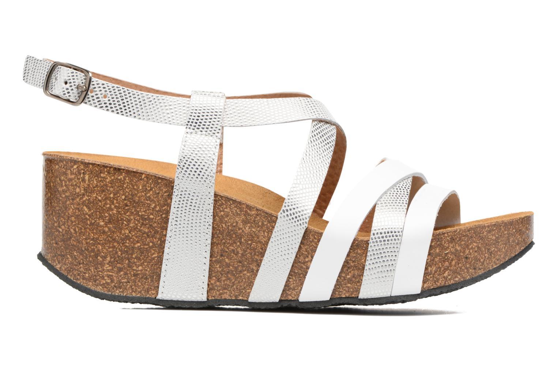 Sandales et nu-pieds Plakton So song Blanc vue derrière