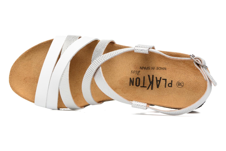 Sandales et nu-pieds Plakton So song Blanc vue gauche