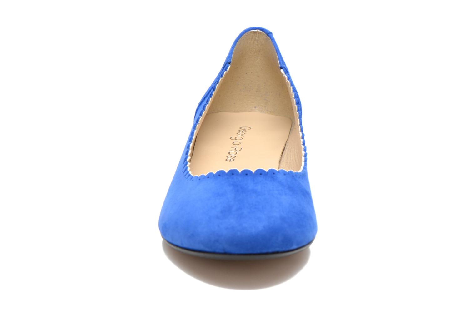 Ballet pumps Georgia Rose Sabby Blue model view