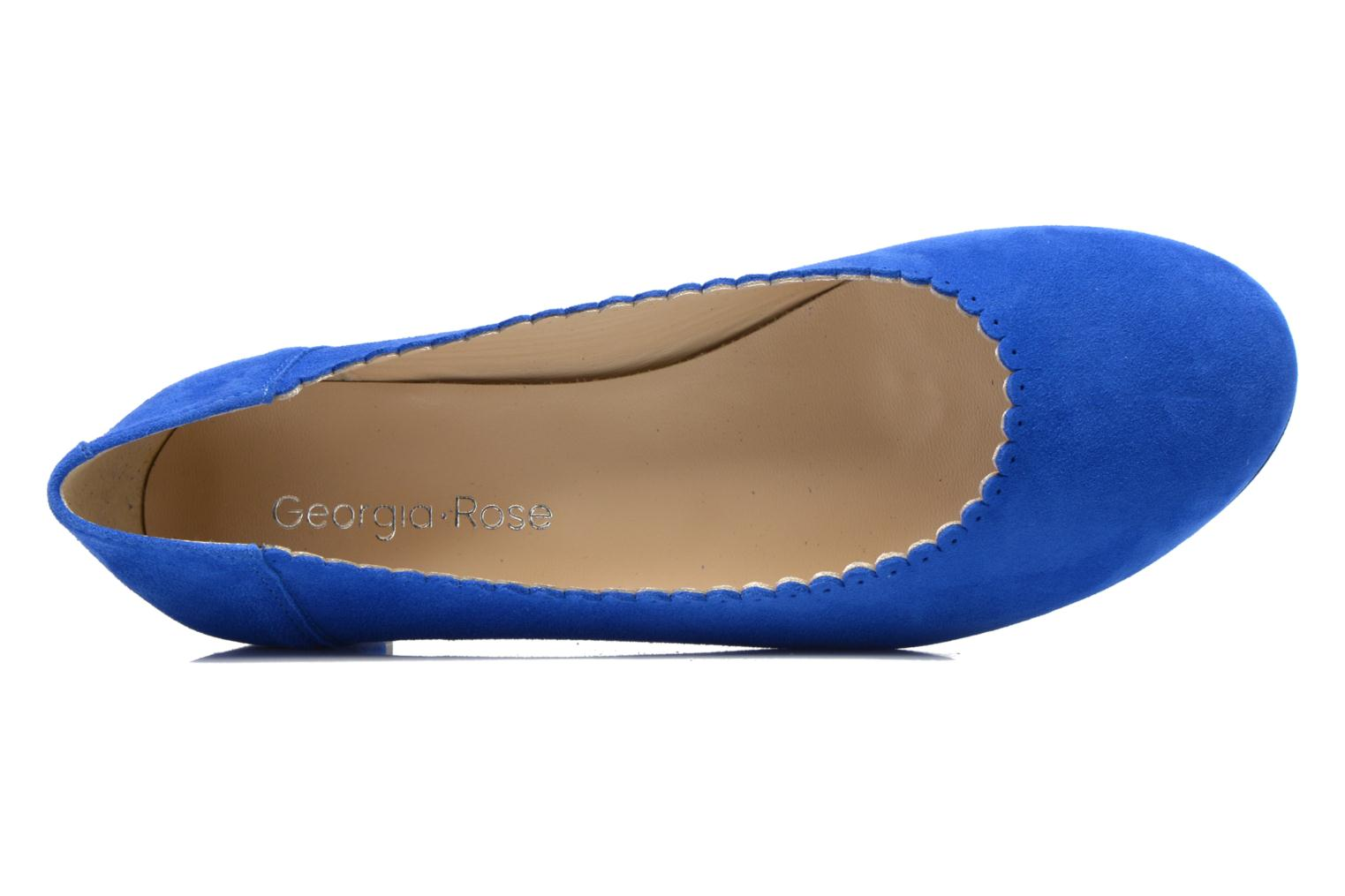 Ballet pumps Georgia Rose Sabby Blue view from the left