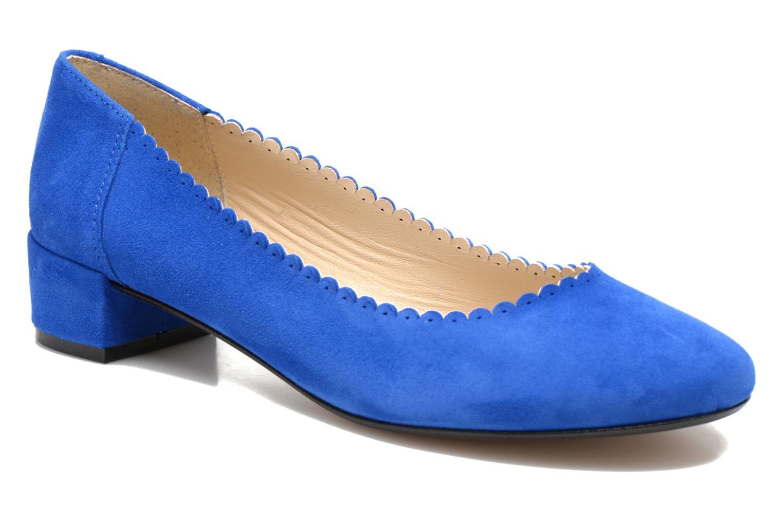 Ballerinaer Georgia Rose Sabby Blå detaljeret billede af skoene