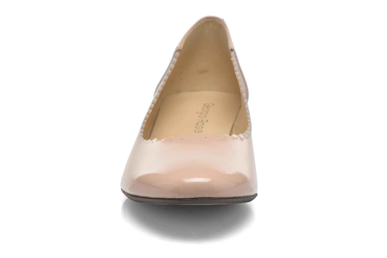 Ballerines Georgia Rose Sabby Beige vue portées chaussures