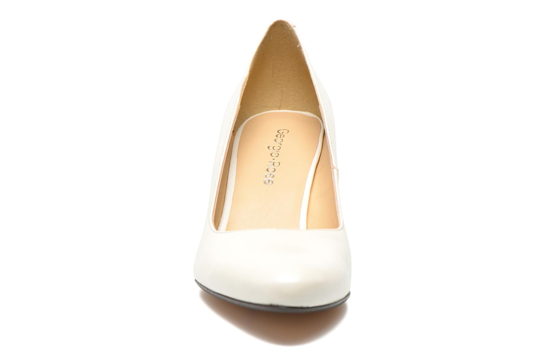 Zapatos de tacón Georgia Rose Santoo Blanco vista del modelo