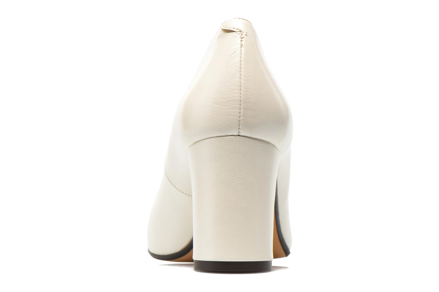 High heels Georgia Rose Santoo White view from the right