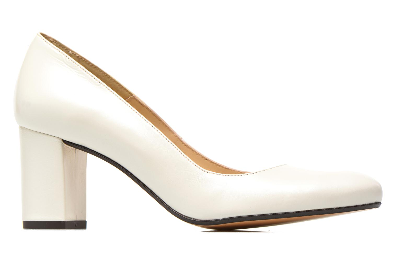 Zapatos de tacón Georgia Rose Santoo Blanco vistra trasera