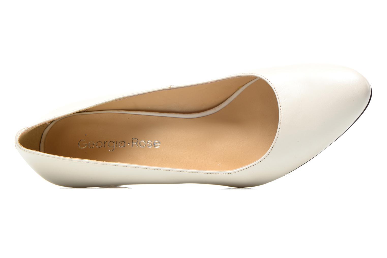 Zapatos de tacón Georgia Rose Santoo Blanco vista lateral izquierda