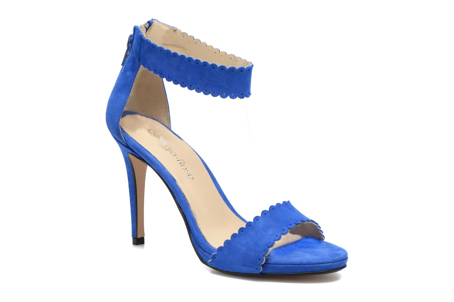 Sandals Georgia Rose Sandalia Blue detailed view/ Pair view
