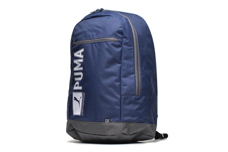 Rucksäcke Puma Pioneer backpack I blau schuhe getragen