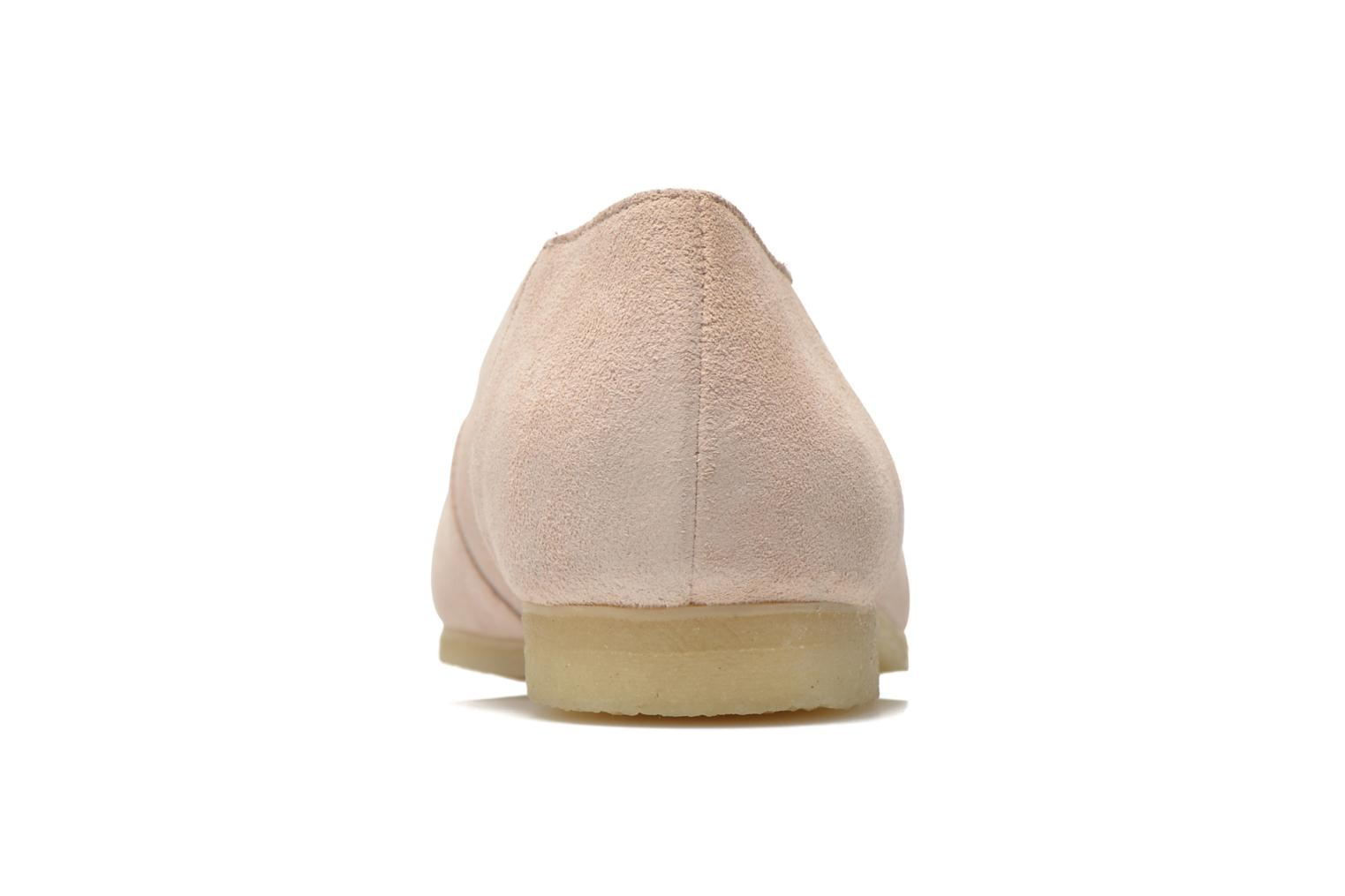 Ballet pumps Clarks Originals Ffion Ivy Pink view from the right