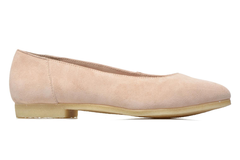 Ballet pumps Clarks Originals Ffion Ivy Pink back view