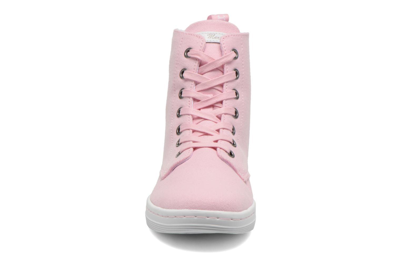 Sneaker Dr. Martens Ecletic Hackney 7 Eye Boot 3J03 rosa schuhe getragen