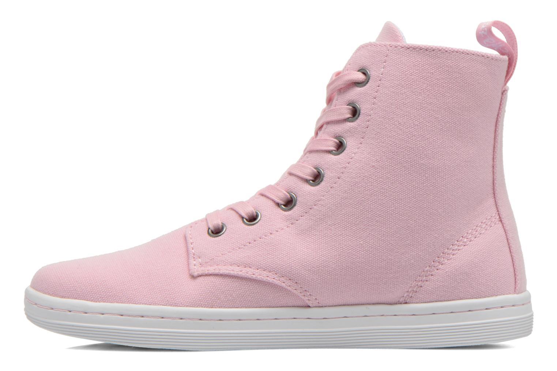 Sneaker Dr. Martens Ecletic Hackney 7 Eye Boot 3J03 rosa ansicht von vorne