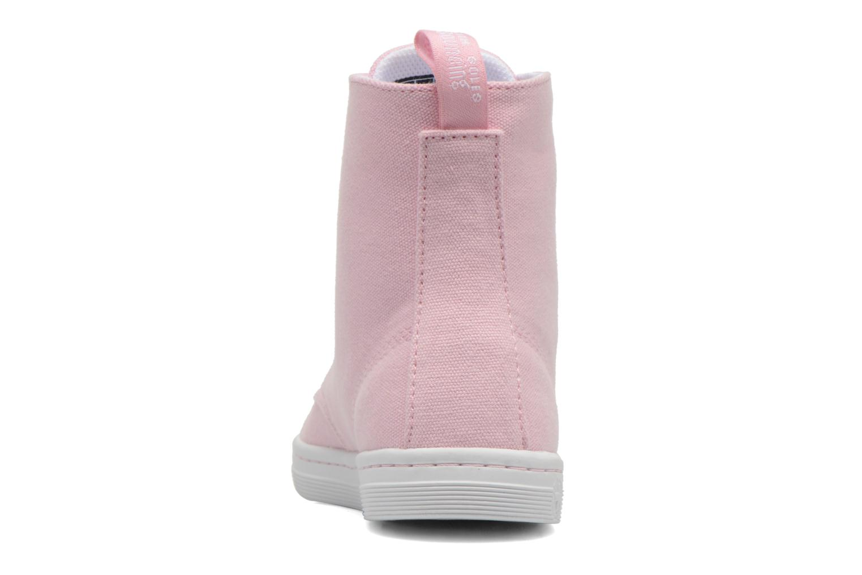 Sneaker Dr. Martens Ecletic Hackney 7 Eye Boot 3J03 rosa ansicht von rechts