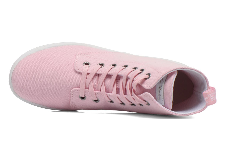 Sneaker Dr. Martens Ecletic Hackney 7 Eye Boot 3J03 rosa ansicht von links