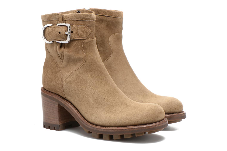 Stiefeletten & Boots Free Lance Justy 7 Small Gero Buckle grün 3 von 4 ansichten