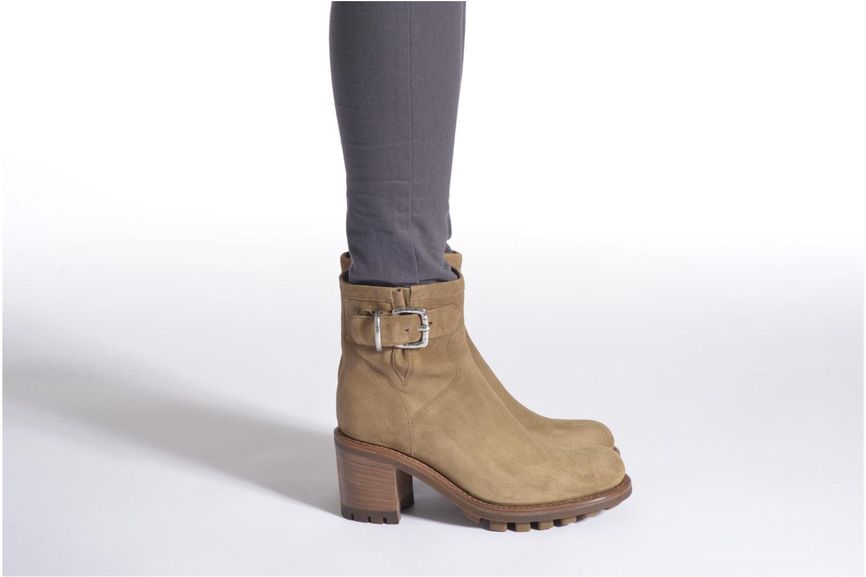 Stiefeletten & Boots Free Lance Justy 7 Small Gero Buckle grün ansicht von unten / tasche getragen