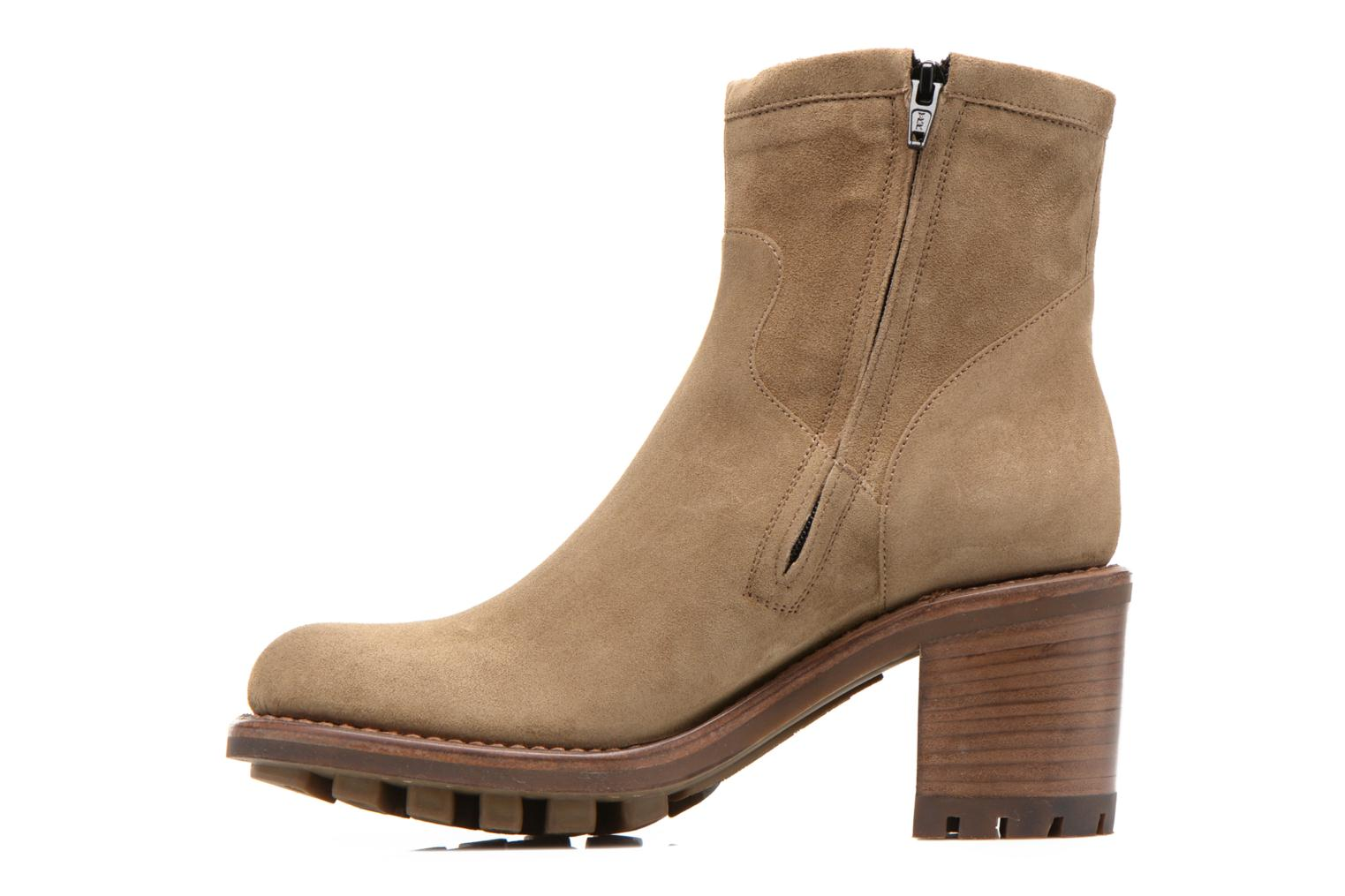Bottines et boots Free Lance Justy 7 Small Gero Buckle Vert vue face
